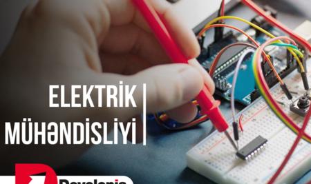 Elektrik-mühəndisliyi təliminə qeydiyyat başladı!